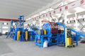 روسيا شعبية، التلقائي آلة التقطيع الإطارات/ التلقائي إعادة تدوير النفايات الإطارات خط/ خط انتاج المطاط كسرة خبز