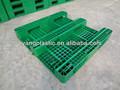 verde de lado único de plástico pallet 1212