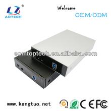 High speed 3.5 nas case wifi lan function/hdd box wifi