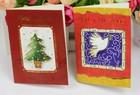Christmas Dear & full glittering greeting card