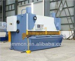 QC11K-12x3200 hydraulic guillotine name plate cutting machine