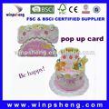 3d cartões de natal/personalizado convite cartões de aniversário