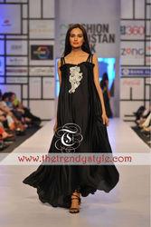 Black Western Maxi Dress