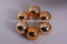 Fashion Golden Golf Balls