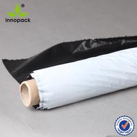 PE white/black uv protection greenhouse plastic film