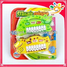 animal transparent plastic toy keyboard instrument mini kids toys plastic musical instruments