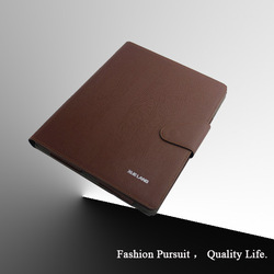 for rotating ipad cases with stand and wallet function made in china