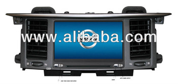2012-2013 Nissan partol double din with gps