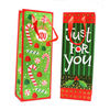Wine Bottle Gift Bags With Ribbon Handles