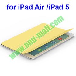 3-Folding PU Leather Smart Case for iPad Air