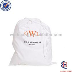 high quality cotton laundry bag