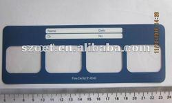plastic film holder,dental X-ray film holder,dental supplies