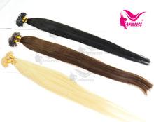Top Quality Popular Italian Keratin bonded Hair Extension Keratin Hair