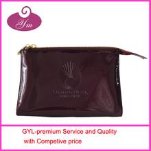 2014 high classic Latest hot sale pu leather cosmetics bag
