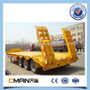 tri-axle Low Loader cheap Semi Trailer