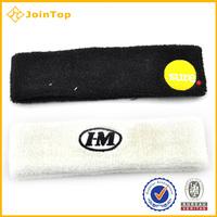 Slim sweat-absorbent cotton sports basketball headband