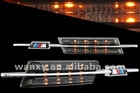 add on turn signal lights with m-logo for deicated bmw