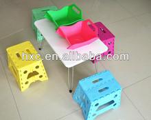 Crianças dobrável mesa de plástico para jantar