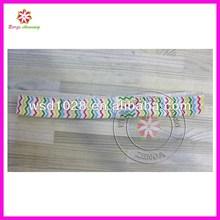Chevron Print Elastic Headband infant hairbands