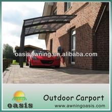Functional Arched roof aluminium canopy carport