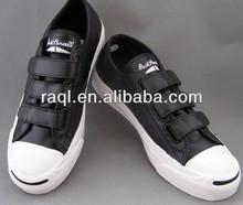 buckle strap canvas shoes