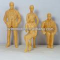 Sentado pele modelo figura para arquitetura modelo de escala / para decoração 5.5 cm