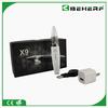 Newest product Mini X9 starter kit with pyrex x9 protank atomizer VS e shisha