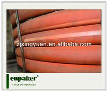 Enpaker orange high temperature flexible hose pipe with EPDM rubber material