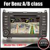 "OEM 7"" in dash 2 din car radio gps navi bluetooth touch screen head unit mercedes benz A class"