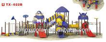 children outdoor plastic slide playsets TX-022B
