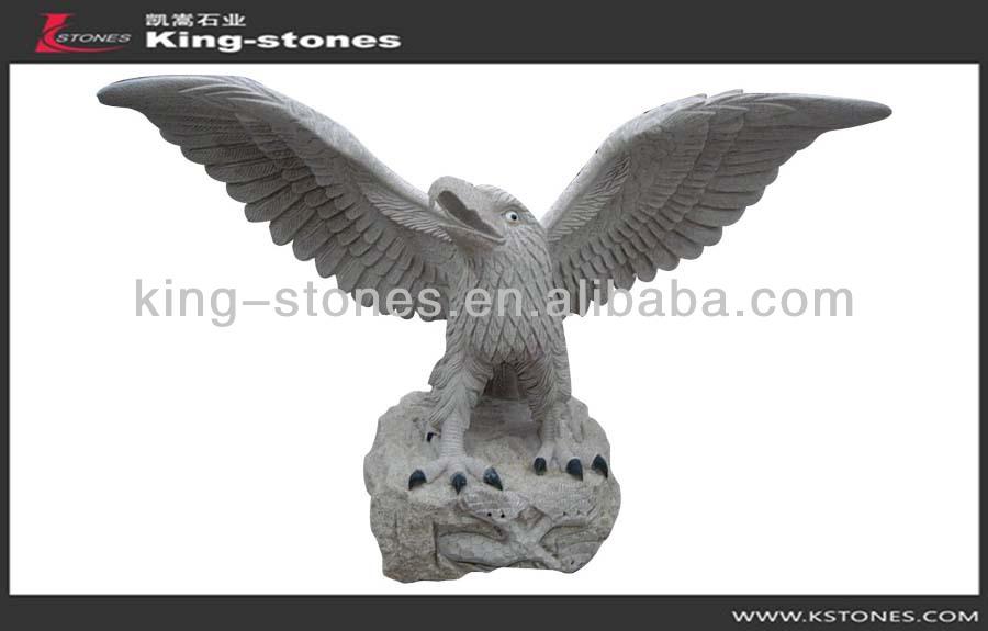 Granite Hot selling natural eagle sculptures