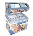 3 2» congélateur d'affichage idéale pour le stockage de chocolat, boissons, de la crème glacée, etc aliments congelés.