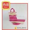 JUNBANG non-woven laminated purple bag for cloth gift