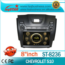 Hot sales! dvd gps navigation system for Chevrolet S10 with 3G,GPS,radio,car multimedia system,LSQ Star