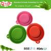 2013 Food grade silicone pet bowl, dog food silicone bowl,silicone feeding bowl for dog