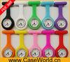 Hot selling quartz promotional silicone nurse watch