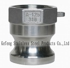 quick coupling for fuel and water hose ,quick release coupling