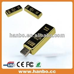 2014 electronic gift stick gold bar fancy usb flash drives bulk cheap