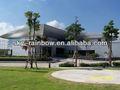 Pe acp/pvdf panneau composite en aluminium pour la construction de matériaux de décoration