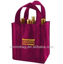 6 Bottle Non-woven Wine Tote Bag