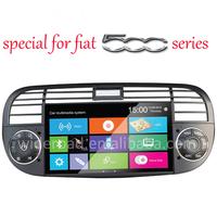 fiat500 dvd cd player for car gps support original blue&me navigation system for Fiat500