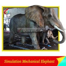 Life Size Simulation Animatronic Animal Elephant