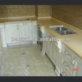 Sin costura suelo mármol/compuesto de piedra/costo- efectiva encimera de la cocina para la decoración de materiales