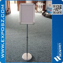Metal stand sign holder