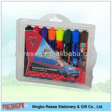 2015 new design 8pcs water color pen set