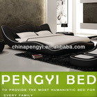Modern indian furniture bedroom bed Made in China P-1