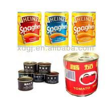 Canned tomato /fish/ food machine