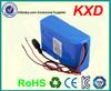 1865 li ion battery 24 volt 10000mah for portable devices