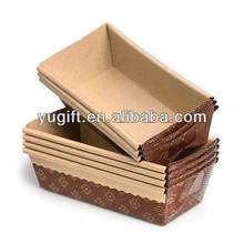 Paper loaf pans/ paper bakeware/ paper baking pan