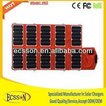 65W portable folding solar panel, high efficiency 23%